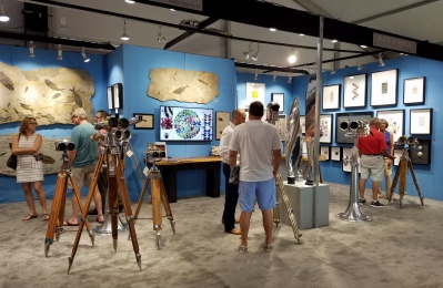 2017 Napes Art, Antique & Jewelry Show Booth Shots